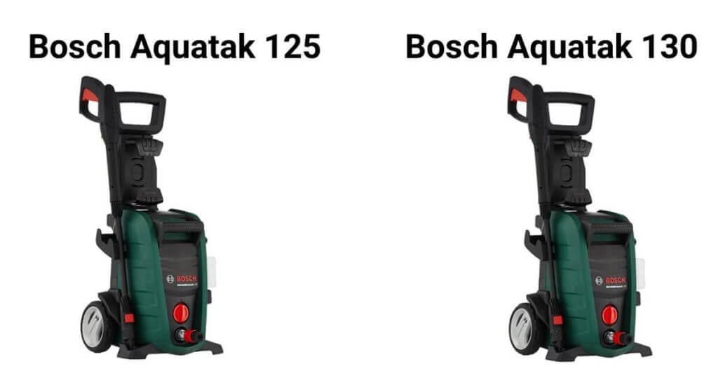 Bosch Aquatak 125 vs 130