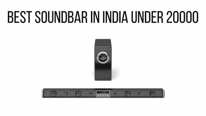 Top Soundbar in India under 20000