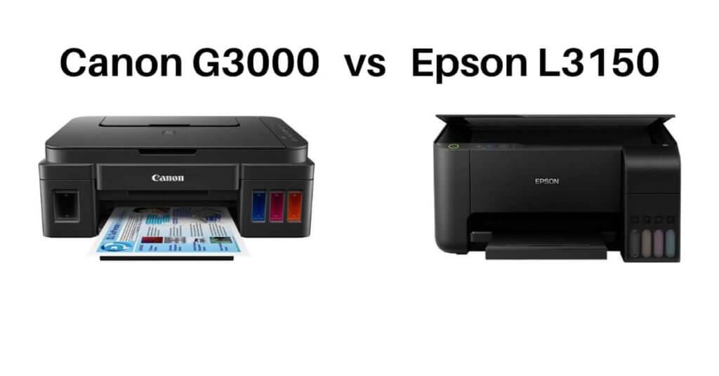 canon g3000 vs epson l3150